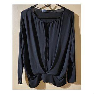 Zara Studio 100% Silk Blouse